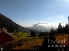 Morning Mist in the Magical Valley Greeting Card for Sale by Erika H Red Lake, Mists, Fine Art America, Landscape Photography, Greeting Cards, Erika, Landscapes, Travel, Paisajes