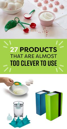 27 Products That Are Almost Too Clever To Use – Presents For Mom Cool Gifts, Diy Gifts, Unique Gifts, Best Gifts, Awesome Gifts, Gadgets And Gizmos, Cool Gadgets, Gifts For Family, Gifts For Him