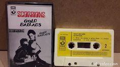 SCORPIONS. GOLD BALLADS. MC / EMI - 1984 / MBC.