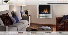 Novus evolution minimalist-style direct vent gas fireplace from Heatilator. Direct Vent Gas Fireplace, Gas Fireplace, Contemporary Gas Fireplace, Home, Fireplace, Heatilator, Remodel Bedroom, Home Decor, Fireside Hearth And Home