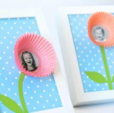 Olha que ideia linda para fazer com a foto das crianças e presentear a mamãe de maneira super especial. São quadros decorativos personalizados muito simples e fáceis de fazer.