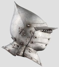 A South German burgonet with pivoted bevor, probably from Augsburg, circa 1550/60 http://www.hermann-historica.de/auktion/images67_max/80772_b.jpg