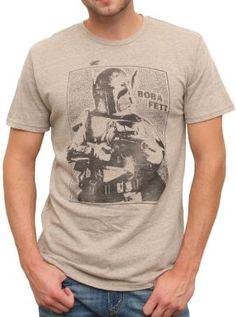 May the 4th be with you!  Boba fett tee  $38  #starwars  www.junkfoodclothing.com
