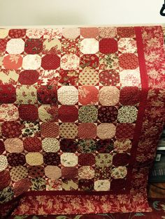 Country Threads Snowball Quilt