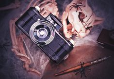 Experiment with the world's first panoramic wide-angle camera dedicated to sprockets. 35mm Camera, Lomography, 35mm Film, Wide Angle, Fujifilm Instax Mini, Have Fun, Mood, Halloween, Spooky Halloween