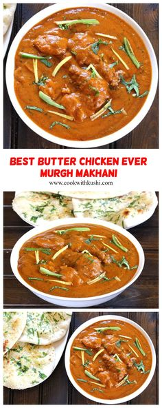 Butter Chicken / Murgh Makhani is an easy to make, rich, creamy & delicious, popular Indian dish where the chicken is cooked in aromatic & spiced tomato based gravy. #dinnerrecipes #chickendinner #easymeals #butterchicken #chickenthighs #chickenbreasts #rotiandcurry #naanandcurry #indiandishes #indianrecipes #butterchickencrockpot #butterchickeninstantpot #indianfood #paneerrecipes #tikkamasala #grilledchicken #chickenmarination #holidaydinner #thanksgivingdinner #footballfood #superbowlfood