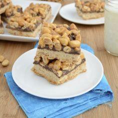 Sweet Pea's Kitchen » Sticky Peanut Cookie Bars