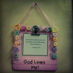 great valentines craft.