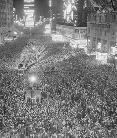 Time's Square, New Years Eve 1937