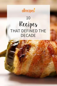 These most popular recipes of the decade run the gamut from vegan quinoa salad to bacon-wrapped jalapeno poppers. Slimming Recipes, Top Recipes, Chicken Wing Sauces, Chicken Wraps, Zesty Quinoa Salad, Bacon Wrapped Jalapeno Poppers, Moist Chicken, Baked Avocado, Bacon Appetizers