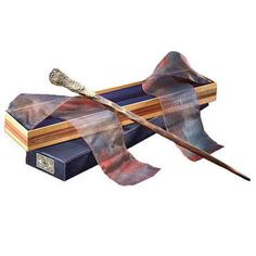 This replica of Ron Weasley's wand is an authentic recreation of the young wizard's wand featured in the movie Harry Potter and the Prisoner of Azkaban. It comes complete with a replica of the original Ollivanders wand box, featured in the film Harry Potter and the Sorcerer's Stone. Measures 14 inches in length.  Made of resin. Please note: while this wand is fun to hold, it's a true collectible and not a toy. It may break if treated roughly.