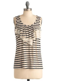 So in love with stripes lately! Just bought something like it in red stripes for ten bucks at Marshalls.