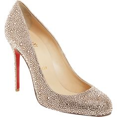 Christian Louboutin Fifi Strass... if only I had 3,000 dollars lol.