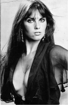 Caroline Munro as Naomi in The Spy Who Loved Me (1977), the tenth spy film in the James Bond series, and the third to star Roger Moore as the fictional secret agent James Bond. Read Bond articles at: http://www.whattravelwriterssay.com/multicountrytravelindex.html