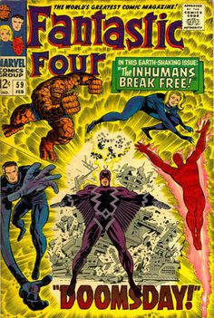 1967 Alley Award: Super Hero Group Title - Fantastic Four  (Marvel Comics)