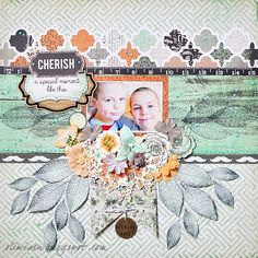 Cherish the Moment *DT Scrapbook Page Layouts, Scrapbooking Ideas, Scrapbook Pages, Fox Collection, Banda Aceh, Mr Fox, Image Layout, Stamping, Sketches