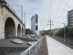 EM2N - Projects - Refurbishment Viaduct Arches, Zurich, Switzerland