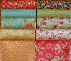 Chestnut Street - Fabric Bundle - Figtree Fabric from Moda by timelessquilts on Etsy
