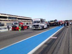 #POLEPOSITION Team Osrini #Truckracing in Le Castellet - #tankpool24 international