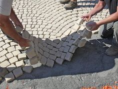 How To Install A Patio Walkway : How To : DIY Network