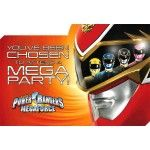 Power Rangers Megaforce Party Invitations ~ 8 pack