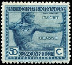 - Archery on Stamps - Stamp Community Forum Old Stamps, Rare Stamps, Congo Free State, Rd Congo, Belgian Congo, Mail Art, Stamp Collecting, Digital Stamps, Archery