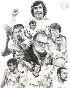 Leeds United, The Unit, Memories, Drawings, Memoirs, Souvenirs, Sketches, Drawing, Portrait