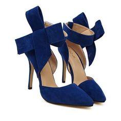 Sapatos plus Size Mulheres Big Bow Tie Bombas 2016 Borboleta Apontou Stiletto Sapatos de Salto Alto Mulher Sapatos De Casamento Bowknot aconselhável em Bombas das mulheres de Sapatos no AliExpress.com   Alibaba Group