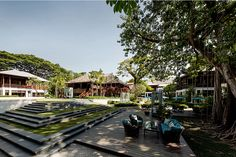 Thailand Landscape Architecture Awards 2015 - 137 Pillars House http://www.livegreenblog.com/landscaping/thailand-landscape-architecture-awards-2015-137-pillars-house-10492/