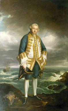 Joshua Reynolds - Admiral Edward Boscawen