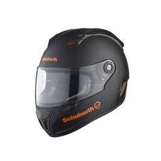 casco schuberth sr1 stealth orange talla S