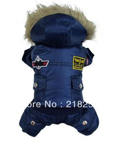 Wholesale  New Coming Thick Warm Air Man Style Pet Dogs Winter Coat   Free Shipping By china post 2013 new clothing for dog