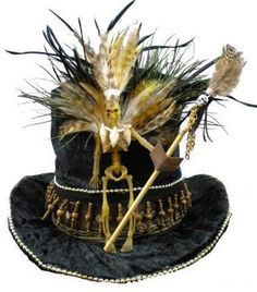 Party in Five: Voodoo Halloween Party -- Throw an elegant Halloween bash that ditches witches, goblins and ghouls for a voodoo-inspired theme filled with tribal accents and natural-looking decor. Description from pinterest.com. I searched for this on bing.com/images