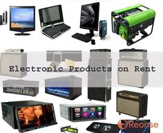 Rent on electronic products like laptop and computer, camera, digital television, washing machine, AC, fridge, etc., in Coimbatore - reonse.com