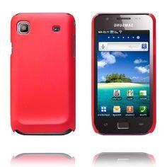 Hard Shell (Rød) Samsung i9003 Galaxy SL Deksel