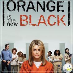 """Today's tip is on series: """"Orange is the New Black"""" conta a história de """"Piper"""", sentenciada a 15 meses de prisão pelo tráfico de drogas. Ao assistir, você pode se deparar com algumas palavras desconhecidas, então, confira algumas delas:  """"Con"""" - gíria para condenado; Furlough - indulto temporário concedido ao preso; Inmate - presidiário; Snitch - dedo-duro; SHU - solitária;  Aproveite o início do ano para se divertir com a série!"""
