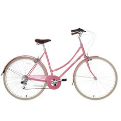Buy your Bobbin Women's Metropole (Pale Rose) 2014 - Internal from Wiggle. Image Model, Cycling Accessories, Classic Bikes, Pink Roses, Vintage Inspired, Girly, Stuff To Buy, Hybrid Bikes, Evans