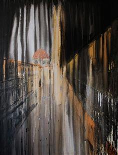 "Claudia Etcheverrito, ""Firenze"" | Acrylic on Canvas | $4,000 | Source: www.art-mine.com/... | Agora Gallery | Contemporary Fine Art | NYC, NY"