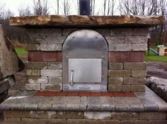 Wood Stove Pools WSP Silver Dome pool heater with stone built around. Nice design!    www.woodstovepools.com Pool Heater, All Stainless Steel, Cool Diy, Stove, Creative Ideas, Cool Designs, Cool Stuff, Nice, Building
