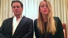 Johnny Depp and his wife Amber Heard recorded a message apologising for breaking Australia's quarantine laws, and advising travellers to respect them.
