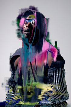 photography & gaphics, Pierre Debusschere - really like this Image Guy Kawasaki, Portrait Art, Portrait Photography, Fashion Photography, Pierre Debusschere, Kunst Online, Photocollage, Glitch Art, Photography Projects