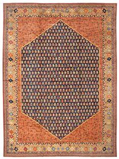 Antique Khotan Carpet | 43675 by Nazmiyal