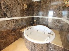 Bad in der exclusive Villa Apollo - Teneriffa preiswerter Urlaub