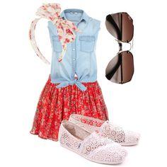 """Summer Stroll"" by valentinelove17 on Polyvore"