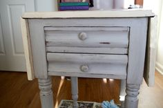DIY Chalk Paint Table Makeover