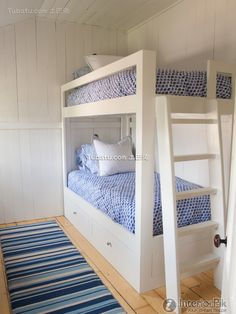 Solid wood bed childrens room decoration effect 2016