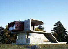 Este emprendimiento arquitectónico único inspira en una ocurrencia natural infrecuente pero hermosa.
