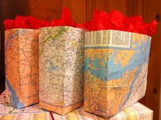 Giftbags from maps