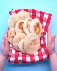 Your heart will fill with joy as your pitas fill with air pockets in the oven. Great pita bread is surprisingly simple to make. It really just requires one thing: patience. Pita Recipes, Greek Recipes, Real Food Recipes, Cooking Recipes, Pitta Bread Recipe, Bread Recipe Video, Arabic Food, Arabic Bread, Arabic Dessert