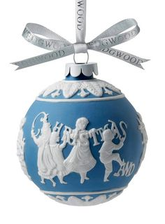 I love Wedgewood. Never seen an ornament!